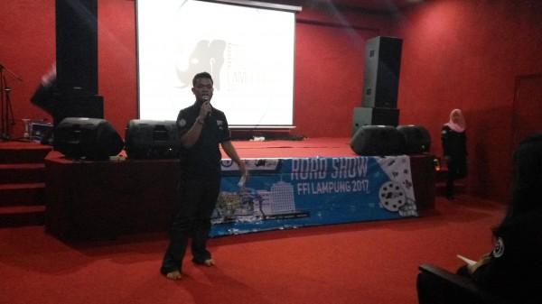 Road Show Festival Film Indie Lampung