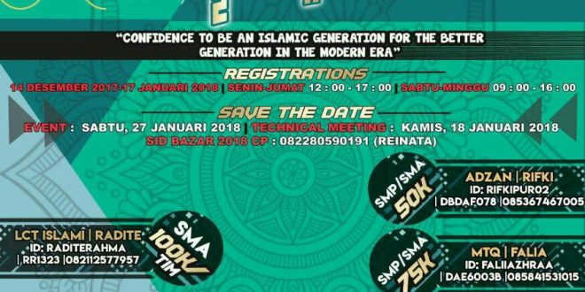SMALAN Islamic Day IX 2018