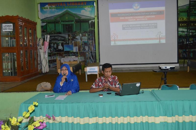 Sosialisasi Pengembangan Unit Kegiatan Belajar Mandiri (UKBM) di SMA Negeri 9 Bandar Lampung