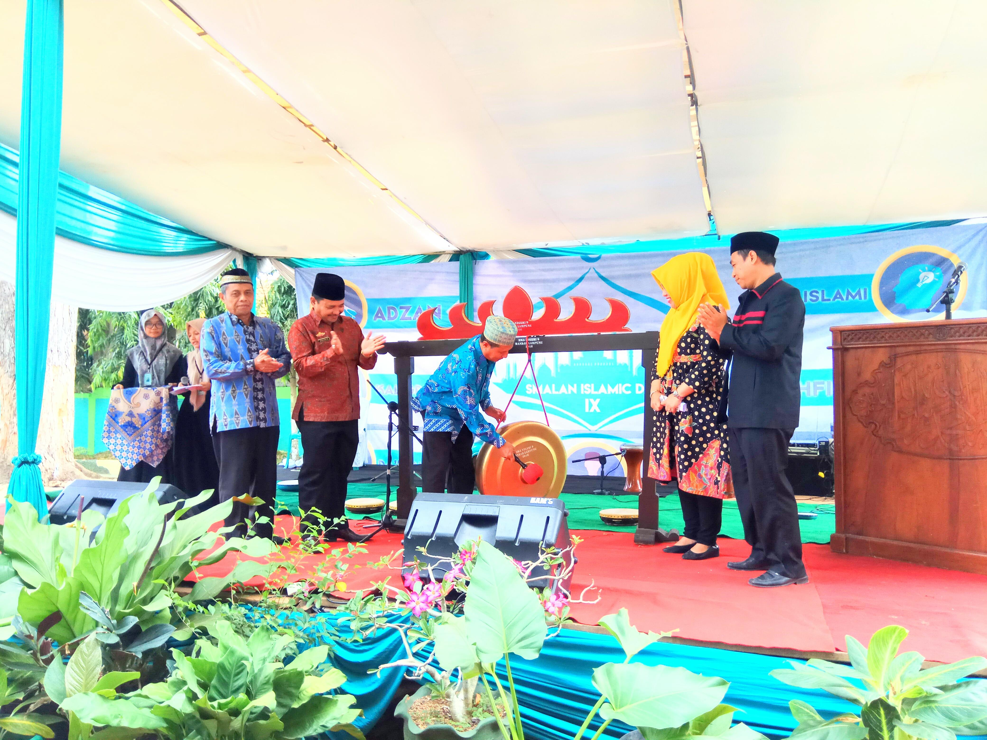 Ratusan Siswa SMP/SMA/SMK Ikuti Smalan Islamic Day IX