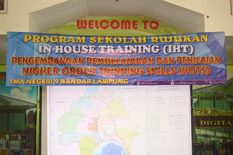 IHT Pengembangan Pembelajaran dan Penilaian Higher Order Thinking Skills (HOTS)