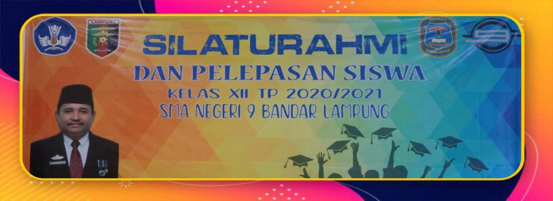 SMAN 9 Bandar Lampung Gelar Silaturahmi dan Pelepasan Siswa Virtual