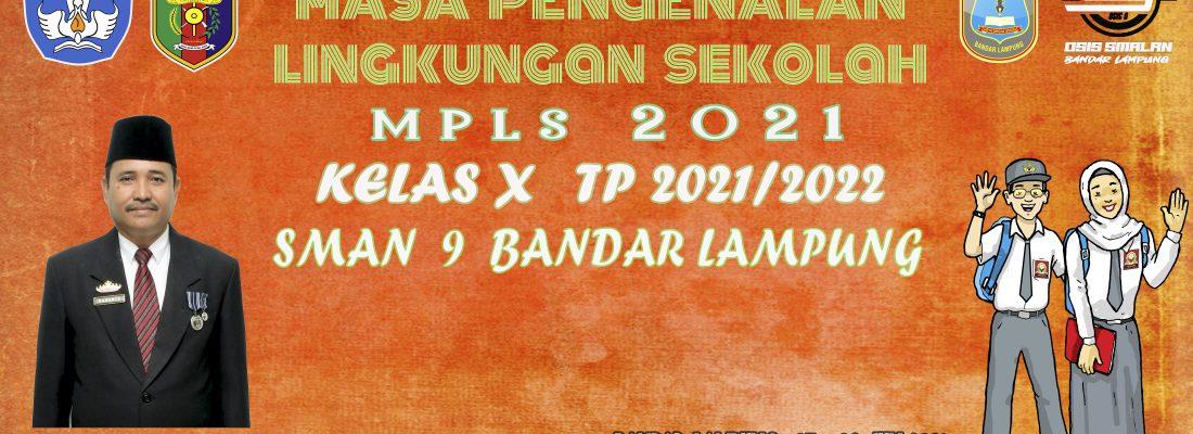 MASA PENGENALAN LINGKUNGAN SEKOLAH DARING (MPLS) TAHUN 2021